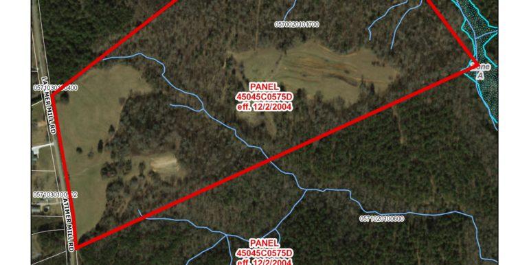 County Flood Map