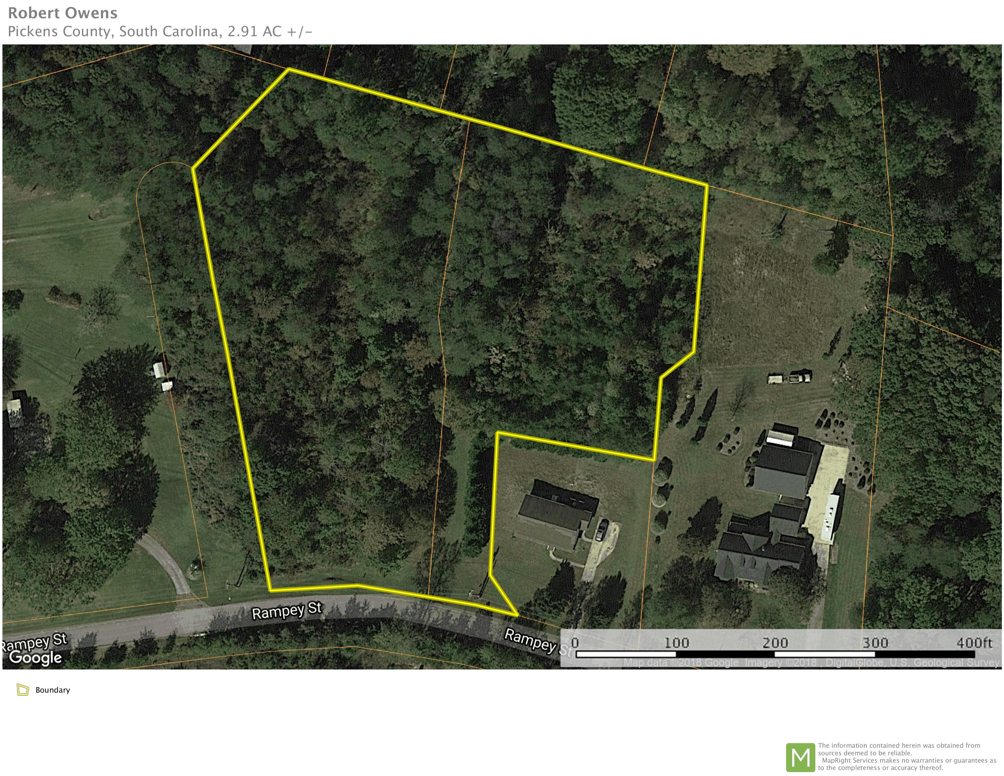 +/- 2.91 acres in Easley, SC