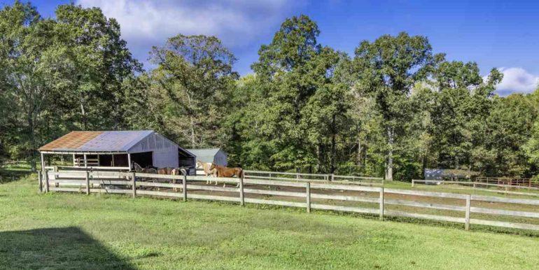 Barn - fencing