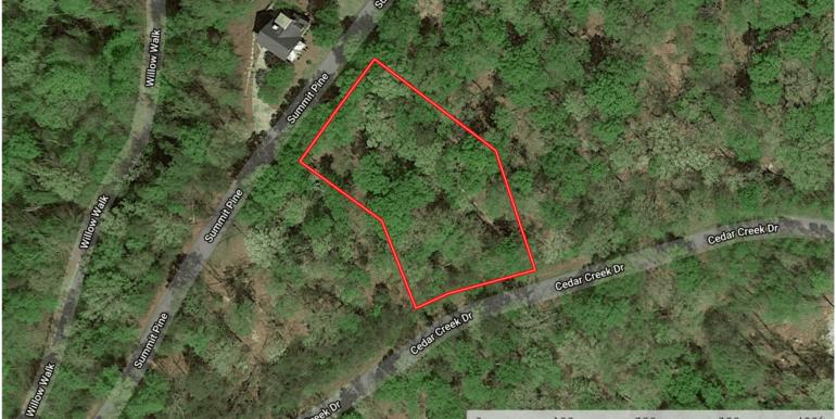Cedar Creek - Lot 055 Lot Lines