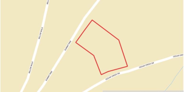 Cedar Creek - Lot 055 Streets