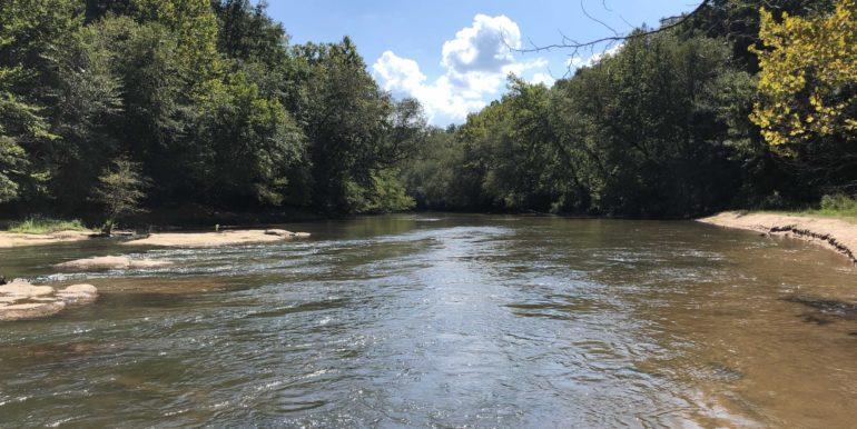In The Saluda Down River