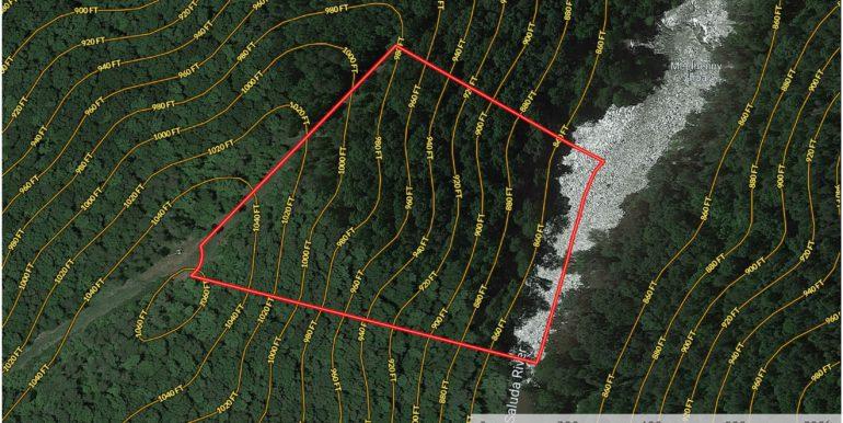 Lot 6 Klima Tree Court - Contour Lines
