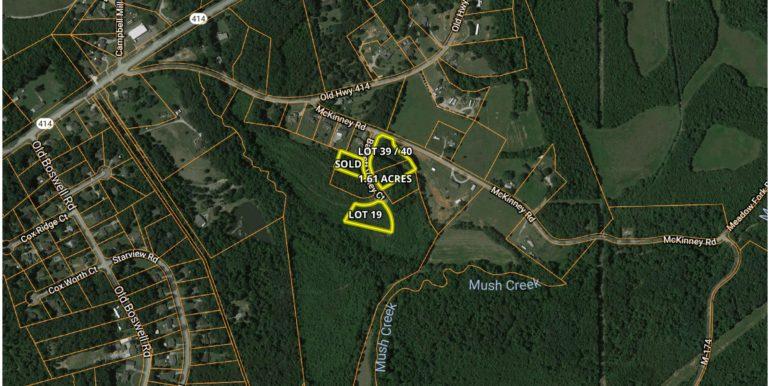 Barnett Valley Lots Aerial Location