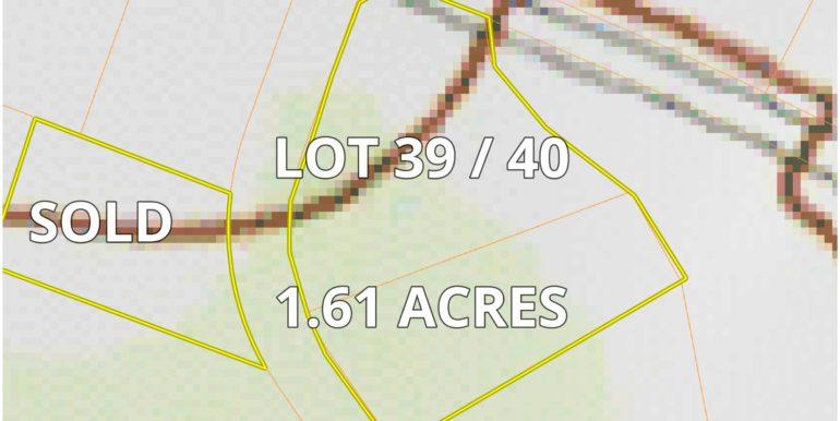 Barnett Valley Lots Topo