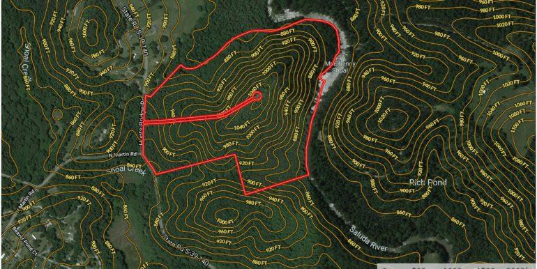Klima Tree Court Contour Lines
