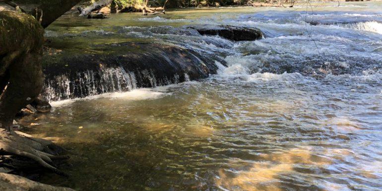 Mcelhenny Shoals waterfall