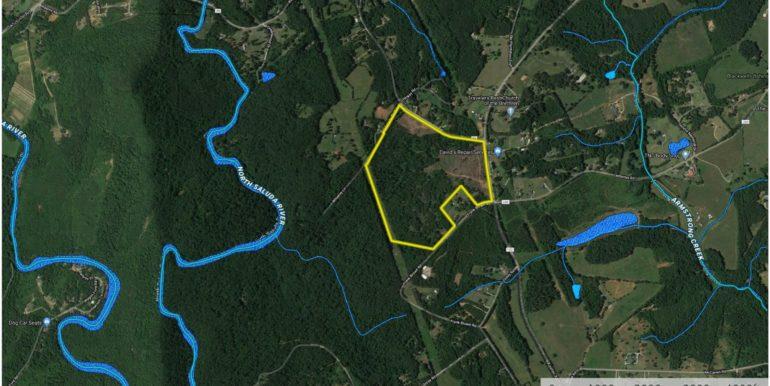 Wild Turkey 73 Acres Aerial 2