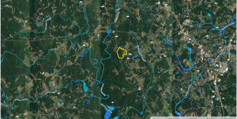 Wild Turkey 73 Acres Aerial 3
