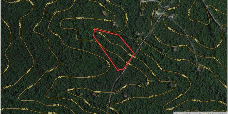 Castle Creek Drive - Contour Lines