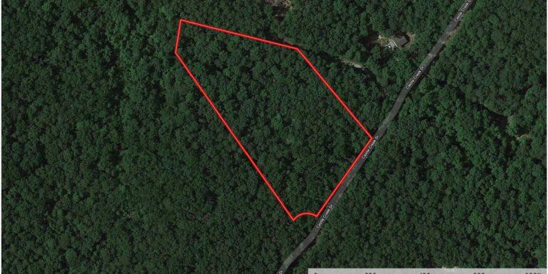 Castle Creek Drive - Lot Lines