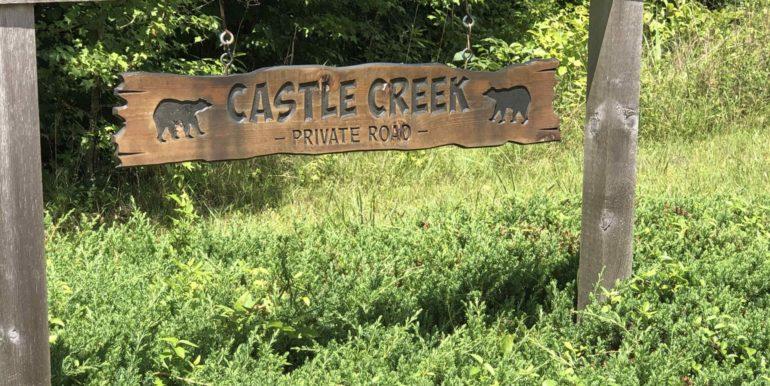 Castle Creek Sign