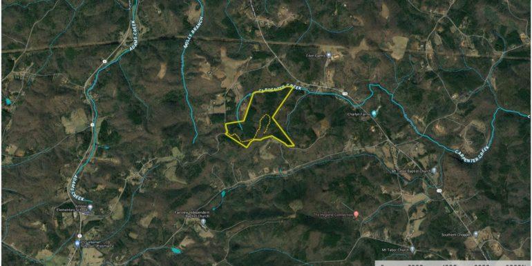 New Ambler School Road 120 Acres Aerial 3